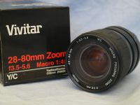 28-80mm Boxed Contax Yashica Fit Zoom Macro Lens £12.99